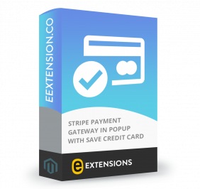 Stripe Payment Gateway in popup with Save Credit Card